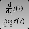 Онлайн калькуляторы. Пределы и производные функций