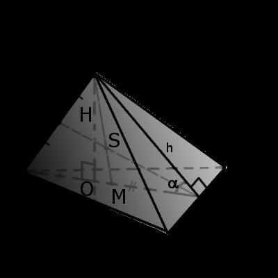 Пример треугольной пирамиди